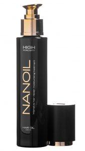Nanoil do włosów wysokoporowatych - zjawiskowy wygląd włosów